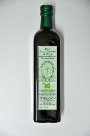 Extra Virgin Olive Oil  Organic Intense Fruity